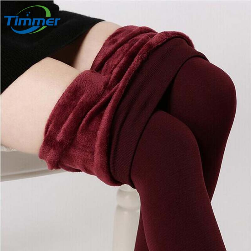 HOT SALE 2015 Trend Knitting Winter New High Elastic Thicken Legging Lady's Womens Leggings Warm Pants Skinny Pant Women Leggins(China (Mainland))