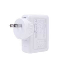4 USB Post 5V 2.1A AC Adapter US Plug Wall Charger Adapter for iPhone 6 iPad Samsung HTC LG Smartphone Tablet(China (Mainland))