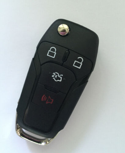 FOR FORD FUSION 2013-14 OEM FACTORY KEYLESS ENTRY FLIP KEY FOB REMOTE N5F-A08TAA WITH 4D63 CHIP(China (Mainland))