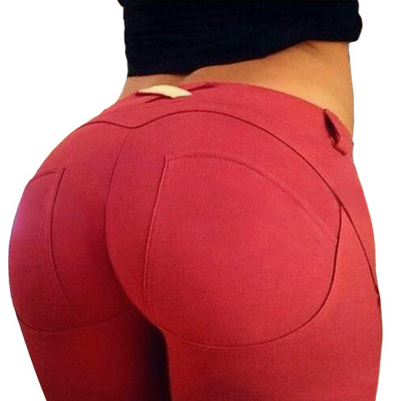 2015 nueva moda solid jeans mujer levante la cadera. Black Bedroom Furniture Sets. Home Design Ideas