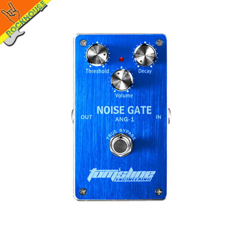 Noise killer Guitar effects pedals Noise gate pedal reduce the noise of guitar give you a clean tone minimizes signal loss