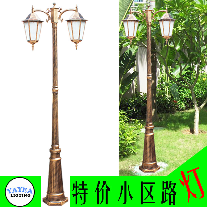 Garden lights fashion exquisite column lights outdoor waterproof road lights balcony decoration lamp(China (Mainland))