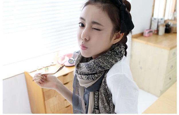 New Arrive Fashion Totem Beer Patchwork Pattern Chic Women Scarves Elegant Pashmina Scrawl Infinity Scarf Shawls