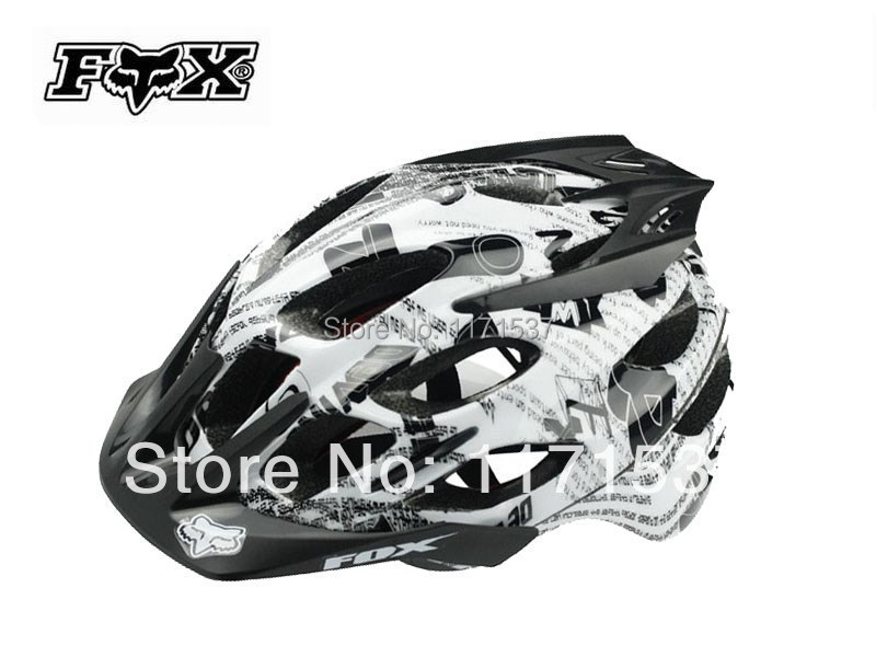 new 2014 Free Shipping Fox Flux Helmet Bicycle Helmet Mountain Bike Helmet(China (Mainland))