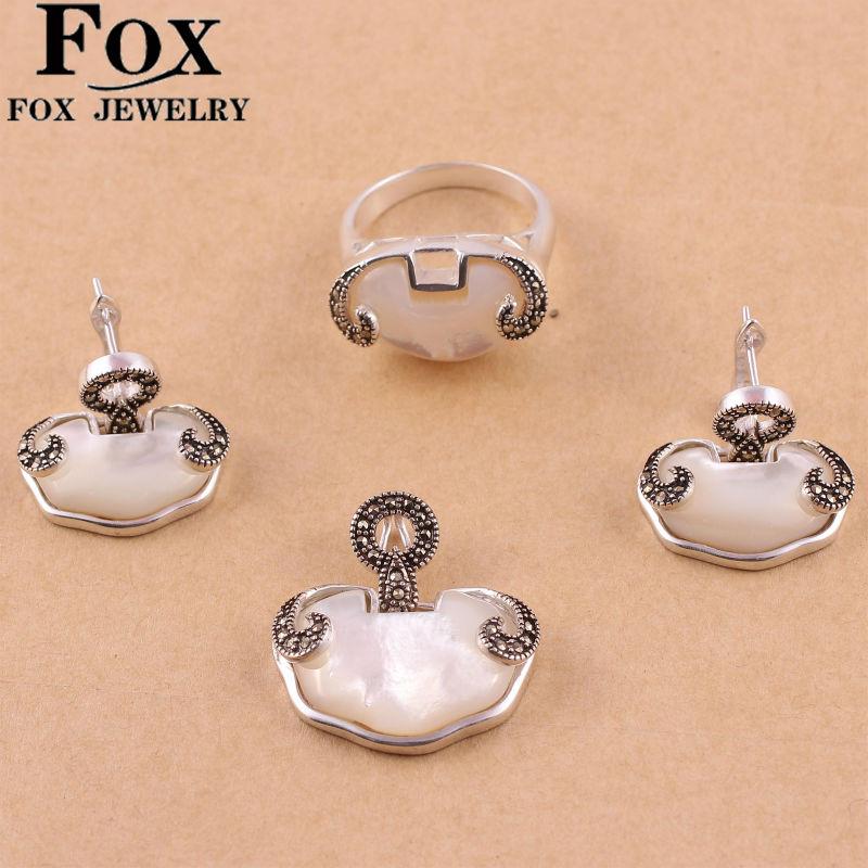 Ювелирный набор FOX 925 644T1 FOX0644T1 fox 2c 756 13