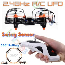 UDI U830 RC UFO Quadcopter Radio Remote Control Toys Helicopter AR Drone 2.4GHz 4CH Gyro 360 Rolling Gravity Sensor Newest(China (Mainland))