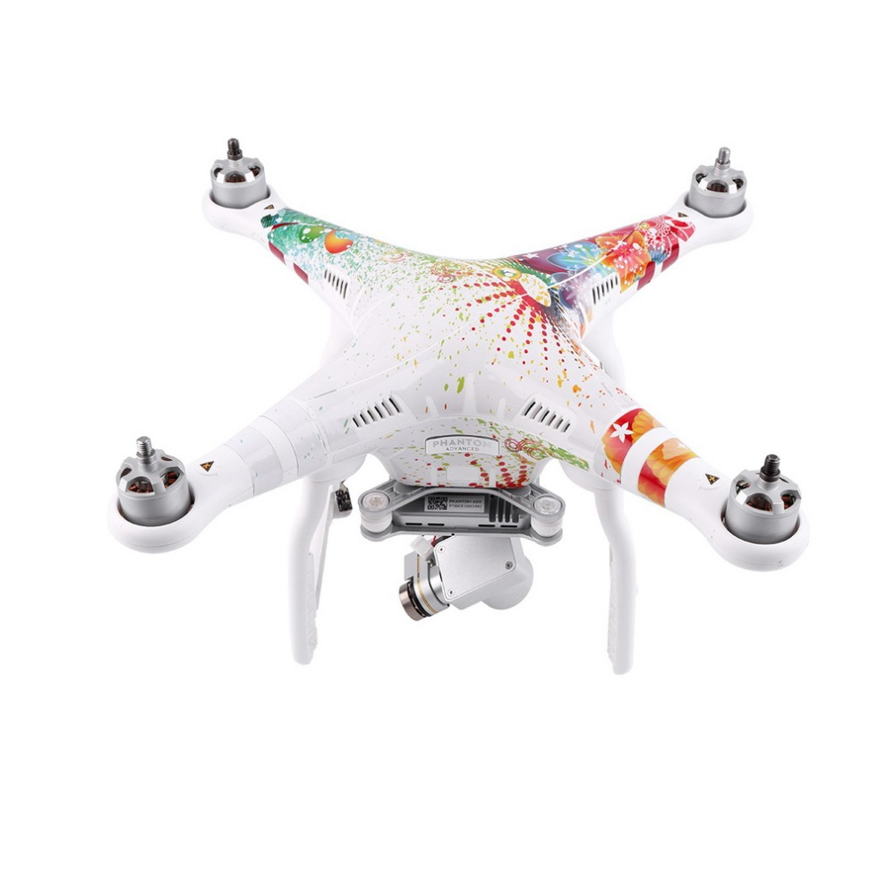 Coloful PVC Decal Skin Sticker For Phantom 3 Copter Shell Controller Accessory Wholesale<br><br>Aliexpress