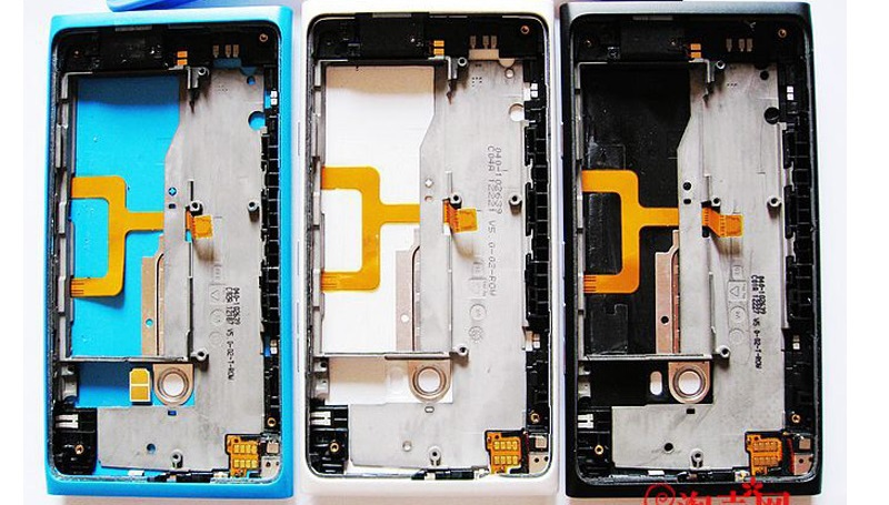 New Original Full Housing Cover Case For Nokia lumia 900 Battery Door Back Cover+Sim Card Tray+Tools Free Shipping(China (Mainland))