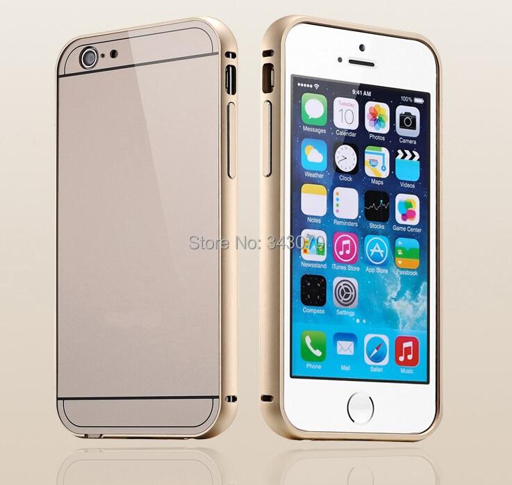 Dual Hybrid 0.5mm Aluminum Frame+ Back Case iphone 6 Moblie Phone Cover Apple Plus Shockproof Shell LOGO - Promet International Industrial Co., Ltd. store