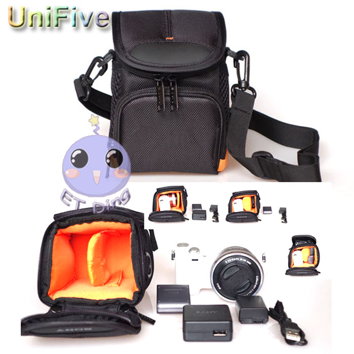 Waterproof Video Camera Bag for Sony WX350 WX60 WX80 H60 H50 h300 NEX3N NEX5N NEX5T CX430 CX390 CX350 CX270 PJ510 PJ390 RX1 TX30(China (Mainland))