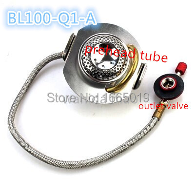 Bulin 100-Q1-A Mini Portable Stainless Steel Propane Gas Stove For Camping Equipment,Burner Outdoor Cozinha Fogao Churrasco Oven(China (Mainland))