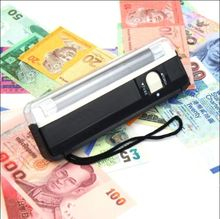 New 4w Mini Portable UV ultra violet black light lamp torch BANK NOTES Check(China (Mainland))
