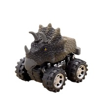 Pull Back Car Jurassic World Dinosaur Model Children Car Toys Baby Car Car Die-casting Toy Children Toy Car Gifts 1 Piece TOY141(China)