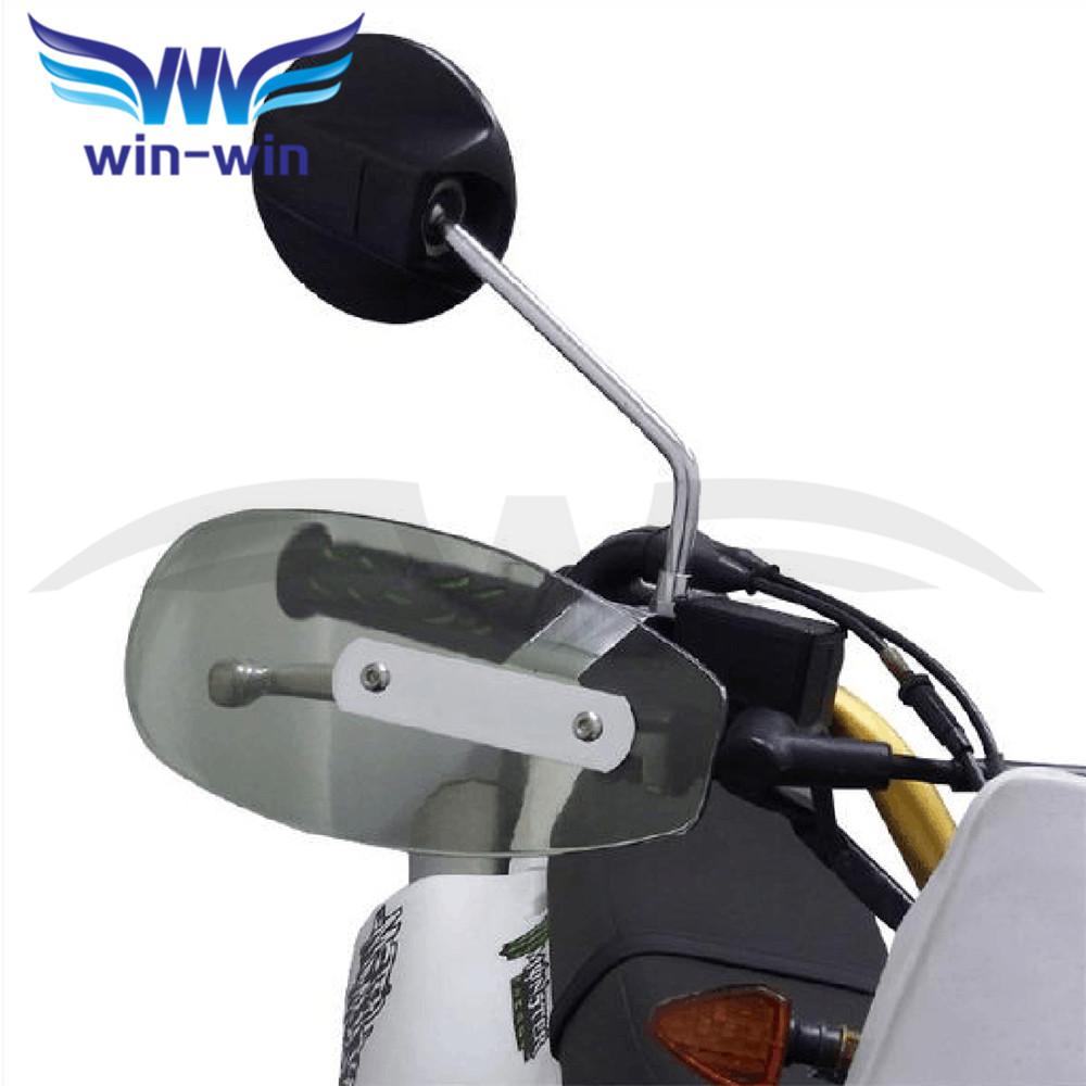 universal motorcycle wind shield handle hand guard ABS motocross transparent handguards FOR Honda Big Sheep FJS400 FJS600(China (Mainland))