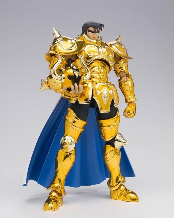 Free shipping LC Saint Seiya Cloth Myth EX Gold Taurus Aldebaran model figure(China (Mainland))