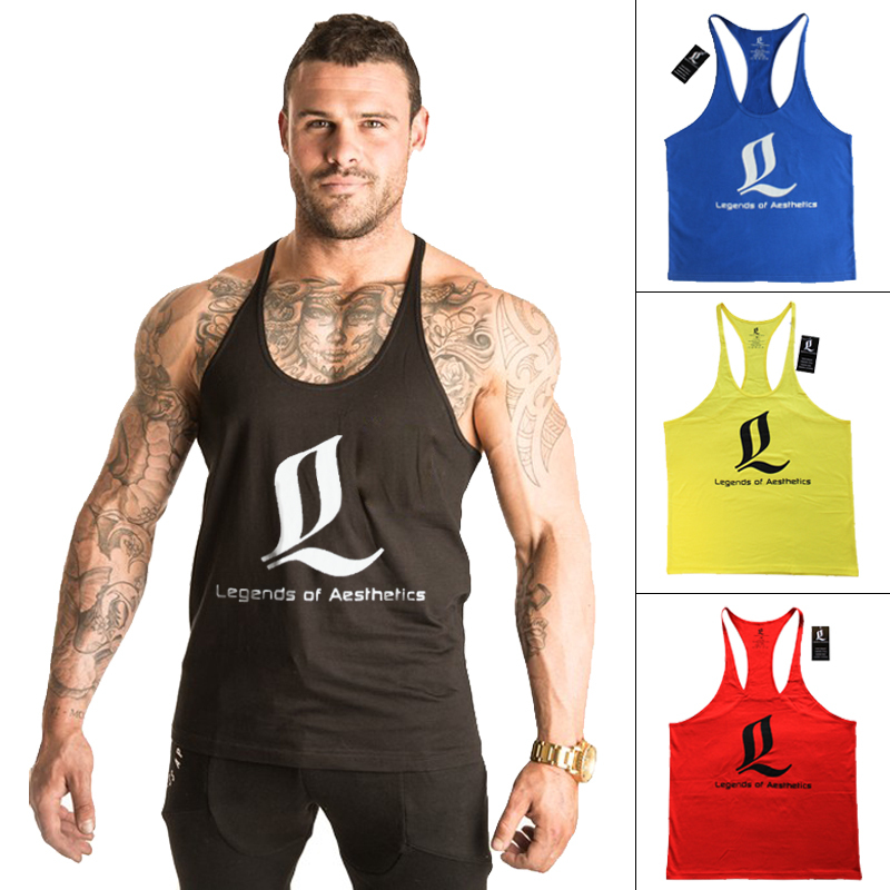 Buy singlet bodybuilding fitness men for Singlet shirt for mens