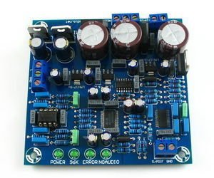 a DIY Kit of DAC 2496 (AK4393)+CS8416+AK4393+5532