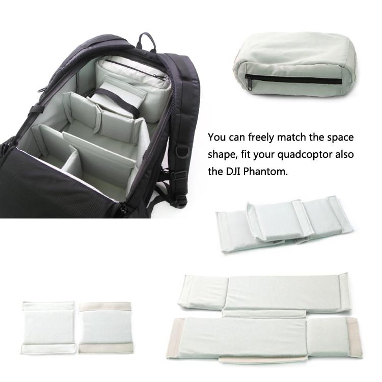Backpack Carry Case for DJI Phantom 3 Professional/Advanced RC Drone Escolar Mochila Quality Brand Bag Backpack Free Shipping