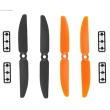 2016 High Quality New 5×3 Inch Plastic 5030 Propeller CW/CCW For 240 250 Frame Black and Orange For RC Drone Quadcopter SV027282