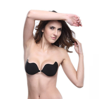 New Silicone Women Sexy Push Up bras Strapless Adhesive bra Invisible sexy brassiere for women lingerie seamless backless