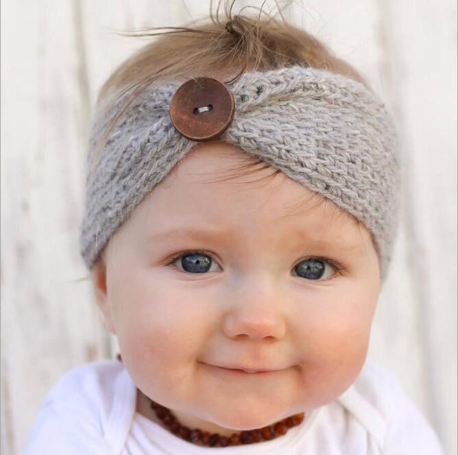 Hot Sale winter wool knitted headbands baby girls kids newborn hair head band wrap turban headband headwear headwrap accesso 329(China (Mainland))