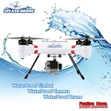 Splash Drone Waterproof  Rc Quadrocopter RTF ,with Waterproof Brushless Gimbal, The world's first waterproof UAV(China (Mainland))