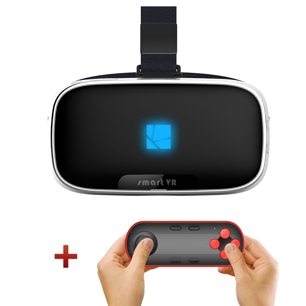 Japan Lens Virtual Reality 3D VR All-in-one Glasses BOX Head Mount Headset Game Movie Android Bluetooth Vrbox Binocular Helmet(China (Mainland))