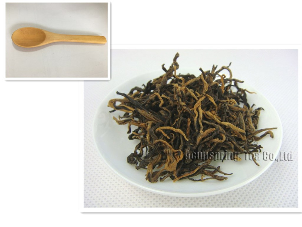 Tea Scoop+gift 250g Premium Dian Hong, Famous Yunnan Black Tea, best gift for you(China (Mainland))