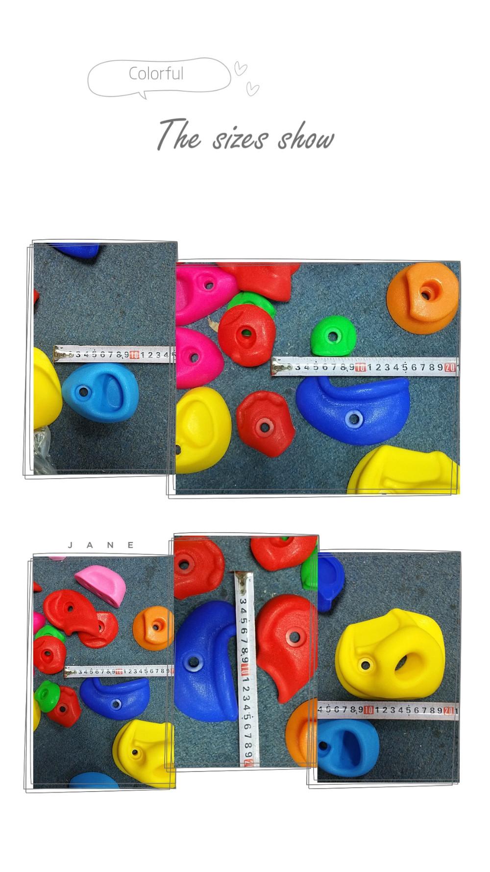 HTB1Qo2HOFXXXXcCaXXXq6xXFXXXc - 16 to 32 PCS / SET Plastic children Rock Climbing Wall Rock Stones Kids Toys Sports tool outdoor game kindergarten Without scre
