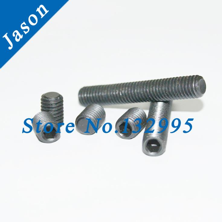 M5*10  Hexagon socket set screws grub screw cup point alloy steel grade 12.9 Grade 12.9 DIN913  M5*L<br><br>Aliexpress