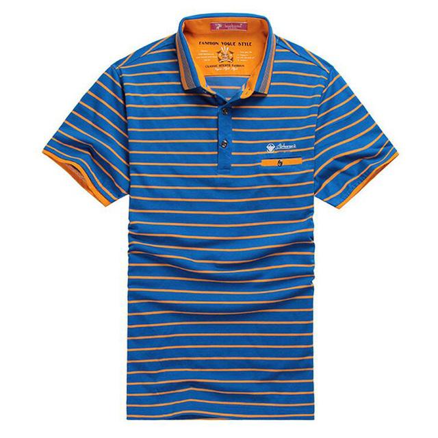 2016 новый летний высокое качество мужская рубашка поло 100% хлопок бизнес свободного ...