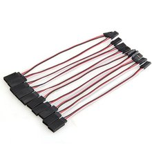 Buy AYHF-10x 150mm RC Servo Extension Cord Cable Wire RC Model Toys for $1.35 in AliExpress store