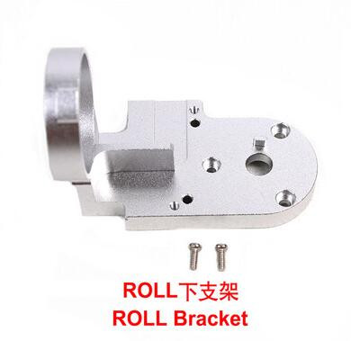 DJI Gimbal Repair Parts CNC Aluminum YAW Bracket ROLL Bracket Gimbal Yaw Roll Arm Replacement for Phantom 3 Standard