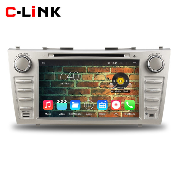 "Quad Core 1.6GHz 8"" HD 1024*600 Android 4.4 Car PC Video Player GPS For Toyota Camry 2007-2010 With Radio WIFI TV 3G OBD2 BT(China (Mainland))"