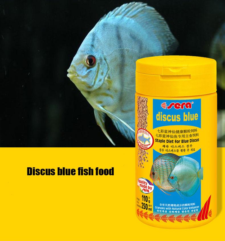 Poissons tropicaux bleu promotion achetez des poissons for Discus fish food