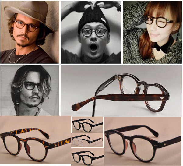 Vintage Optical Glasses Frame Brand Oliver Peoples Johnny Depp Eyeglasses for Women and Men Eyewear Frames