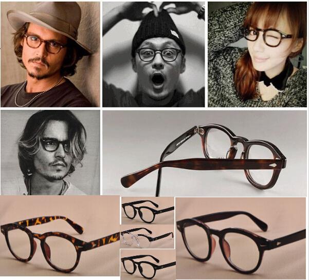 Vintage Optical Glasses Frame Brand Oliver Peoples Johnny Depp Eyeglasses for Women and Men Eyewear Frames(China (Mainland))
