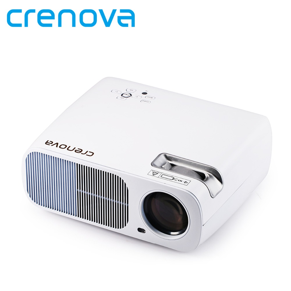 Crenova XPE600 LED Video Projector 2600 Lumens 800*480 Resolution Office 1080P HD Home Cinema Theater Projector for PC Laptop(China (Mainland))
