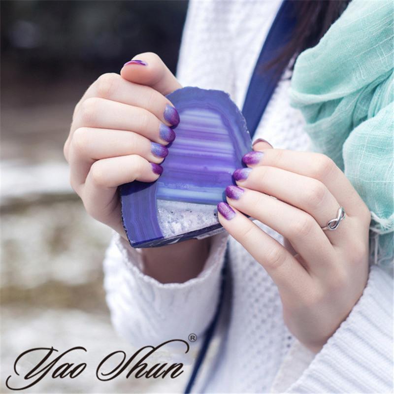 Perfect Summer UV Gel Nail Polish Temperature Color Change Gel LED UV Soak off Gel Polish Lacquer 8ml Long Lasting Nail Gel(China (Mainland))