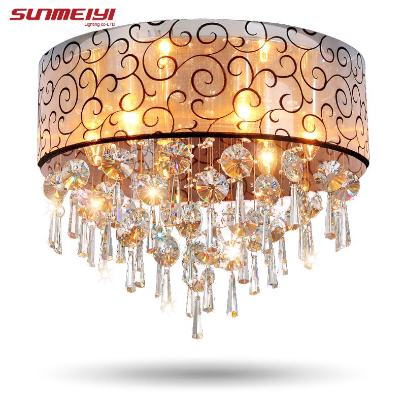 Modernas Luzes de Teto de Cristal Para Sala luminarias