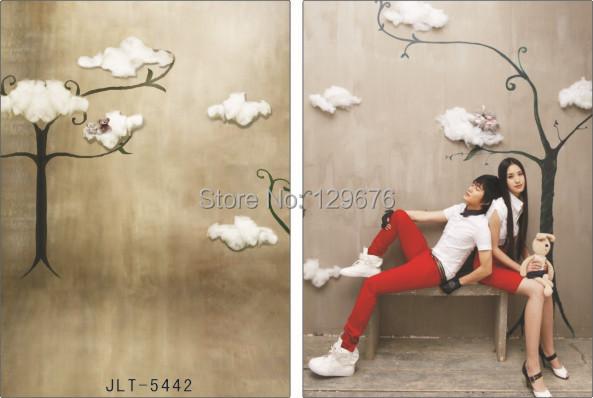 Фотография Wedding Dress theme Vinyl Custom Photography Backdrops  Photo Studio Background  JLT-5442