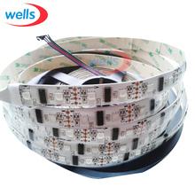 Wholesale 5M 32/48/52/60 LEDs/m pixels individually 17mm width LPD8806 addressable LED Strip Light IP65 IP67 Waterproof DC5V(China (Mainland))
