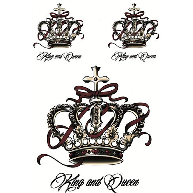 Тату корона на сердце эскизы