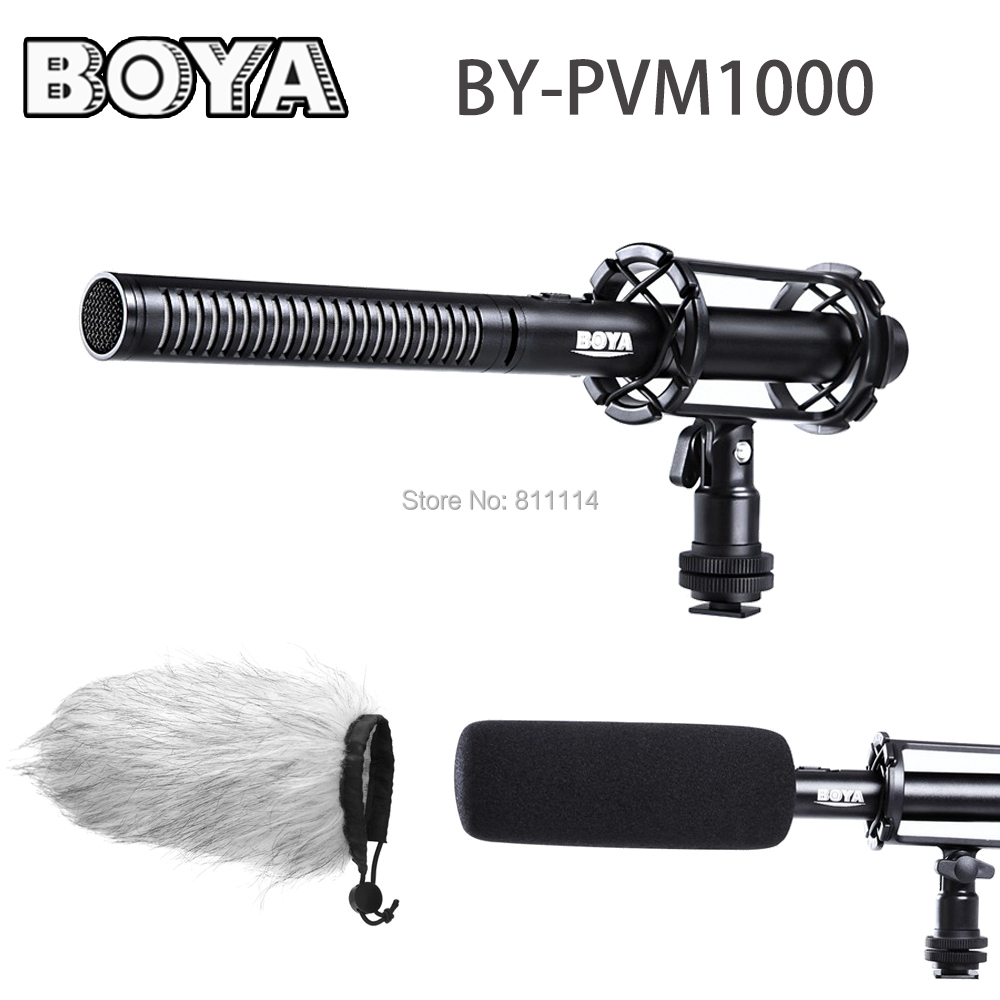 Professional Video & Broadcast Unidirectional Condenser Interview Microphone Kit for Canon Nikon Sony DSLR Cameras / Camcorder(China (Mainland))