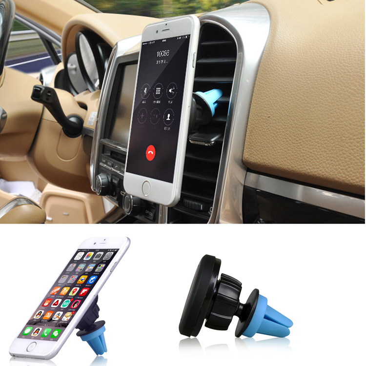 Universal magnetic car mobile phone holder car air vent mount holder stand for iphone 6 5S Ipad Samsung GPS(China (Mainland))