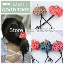 Kawaii G00D Korean children hair accessories hair rope daisy crown