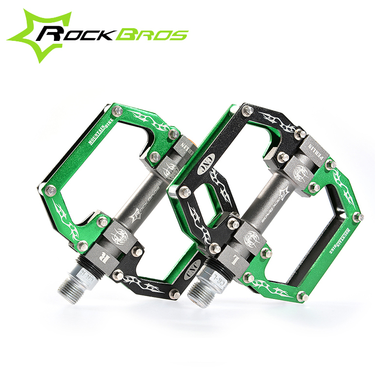 2015 ROCKBROS HOT Sale MTB Ultralight Bike Bicycle Pedals Mountain Road Bike Pedal Cycling Aluminum Alloy 3 Styles Hollow Pedal(China (Mainland))