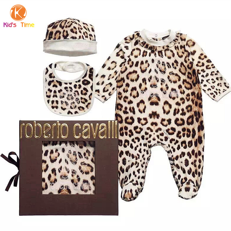 Soft cotton brand design leopard print baby girl rompers o for Leopard print shirts for toddlers