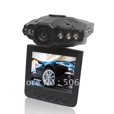 car accident camear with 2.5 TFT LCD SCREEN , 120 degree angel and 270 degree rotating screen. 6 LEDS for IR and night vision