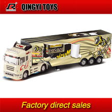 QYTOYS QY0202A 1:32 RC 6CH container heavy truck with lights and sounds(China (Mainland))